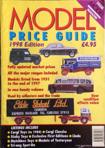 ORIGINAL MODEL COLLECTOR MAGAZINE PRICE GUIDE 1998 Edition